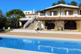 Large Quinta with pool and views of the Atlantic ocean near Albufeira